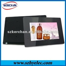 7'' lcd advertising digital/7 inch photo frame