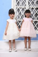 2012 summer collection eco-friendly designer frocks for kids