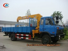 Dongfeng 145 sany new truck crane