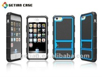 for iPhone 5 crashproof TPU+PC new design with stand iphone 5 case factory price!!!