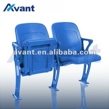 Merit plastic stadium seat folding stadium seating for basketball softball entertainment sports games