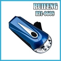 hand crank led lamp super emergency dynamo led flashlight
