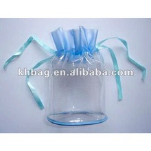 Clear promotional PVC gift bag
