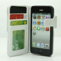 stand leather case for iPhone5 5s with card slot