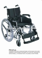 Power wheelchair with kithium battery,speed wheelchair