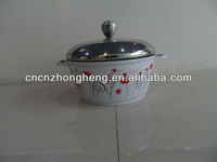 ceramic non-stick coating cookware soup pot with lid