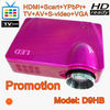 Promotion! low cost hd projector built in TV tuner, 1080p