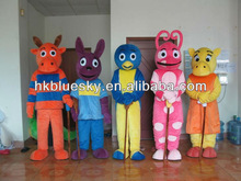 the backyardigans mascot costumes for carneval party