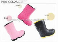 kids cheap rain boots JX-916