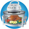 Halogen oven with micro switch