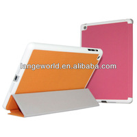 2013 Flip Stand book Leather mini phone case for ipad