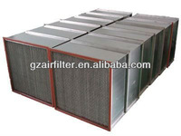 99.97% industrial filter deeppleat hepa air filter h13
