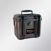 Model (261722) plastic tool case with pluck foam and handle