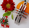 New products for 2013 metal charms pendant unique cross pendant #52027-1