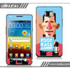 2013 cell phone case stickers for galaxy s2 with no bubble