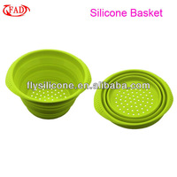 Microwave Safe Silicone Folding Easter Baskets Wholesale, Kitchen Tool