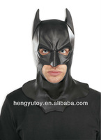 full head Adult Batman mask design latex halloween movie mask