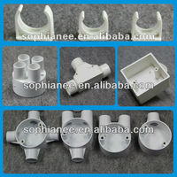 Supply Full Types of Electrical Plastic Pipe Fittings