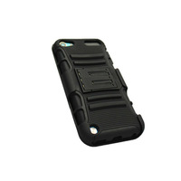3 in 1 belt clip case for ipod touch 5 with stand