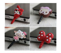 2013 new design dust plug ,best anti dust plug for phone