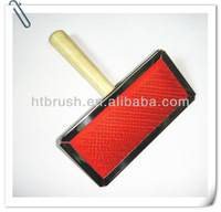 2013 Wooden Handle Dog Sicker Brush