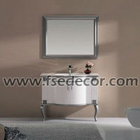 hand painted Wash Basin bathroom vanity bathroom vanity set FSE-VT-X91001