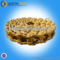 PC200-7 undercarriage parts, PC200-7 track chain, PC200-7 track link assy