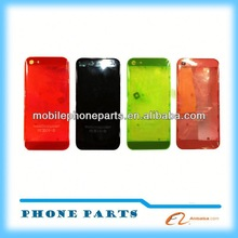 transparent color fancy phone cases for iphone 5