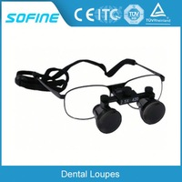 Surgical Medical Magnifying Glasses Dental Surgical Binocular Loupe with LED Headlight