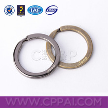 Durable zinc alloy metal key ring