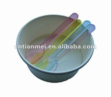 Plastic disposable ice cream cup
