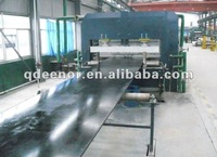 Sidewall Conveyor Belt Production Line / Flat Blet Making Machinery