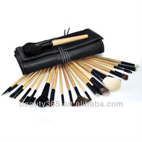 24 PCS professional private Makeup Brush Set With Black Case