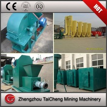 groundnut shell sawdust charcoal production line/charcoal briquette machine production line for palm husk