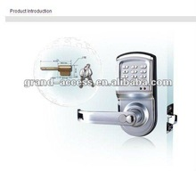 digital keypad door lock, electronic anti-theft locks with standard three lock tongue, with battery for power supply