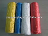 Plastic medical garbage bags