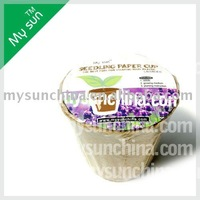 seeding paper cup,corrugated pot plant,nursery pot for flower.