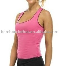 bambus yoga tank top für damen