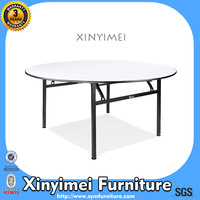 Wooden Banquet Round Plywood Table XYM-T01