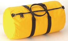 yellow plain china travel bag