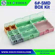 5# SMD SMT Screw Electronic Components Kit, SMD component storage box