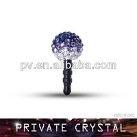 Fashion phone accessory crystal jewelry