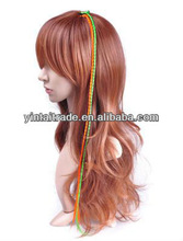 Feak Feather Hair Extension, Wholesale Grizzly Rooster Feather Hair Extensions