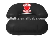 Black color inflatable kids chair home furniture living room sofa single sofa chair one seat sofa