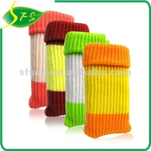 2012 Sock shape & soft Mobile phone bag