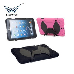 PC and Silicon Tablet Cover for iPad Mini