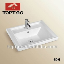 High-grade cabinet basin ceramic wash basin price 60H