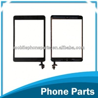 replacement mobile phone spare parts touch screen assembly with IC for iPad Mini