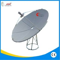 C band 100/120/135/150/160/180/210/240cm Flat Satellite Antenna