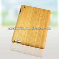 wholesale 100% New Natural Wood Wooden Bamboo Hard Back Case Cover for iPad Mini